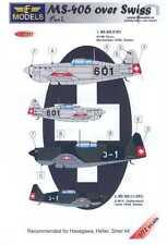 LF Models Decals 1/72 SWISS MORANE SAULNIER MS-406 Fighter