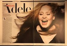 Adele 5pg + cover ROLLING STONE magazine feature, clippings