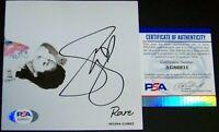 Selena Gomez Signed Autographed RARE Photo Album CD Cover Booklet PSA COA!