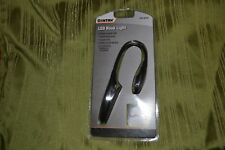 Flexible LED Booklight  - Black; Batteries Included - Brand New - Sontax