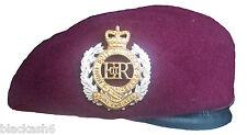 Royal Engineers 9 Squadron Para Maroon Beret & Cap Badge NEW
