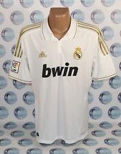 REAL MADRID 2011 2012 HOME FOOTBALL SOCCER SHIRT JERSEY CAMISETA TRIKOT ADIDAS