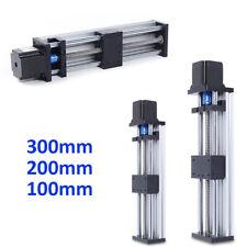 Linear Guide Rail Slide Stage Actuator Ball Screw Motion Table Nema F 23 Motor