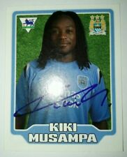 MERLIN F.A. PREMIER LEAGUE 06 Collection #280 Kiki Musampa - Manchester City