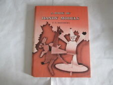 Good - A book of handy models - Matthews, Eric Norman 1957-01-01 Ink stamps insi