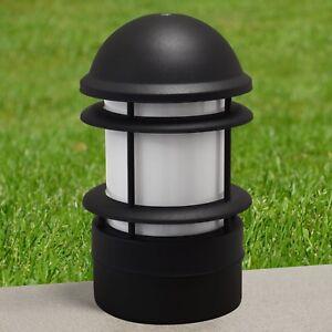 LED Außenleuchte Außen Pollerleuchte Standleuchte Sockelleuchte 11W Außenlampe