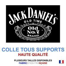 Sticker autocollant JACK DANIEL'S logo plusieurs tailles, super prix