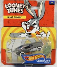 Hot Wheels Looney Tunes Bugs Bunny Character Car RARE 2017 #1/6 Package Typo