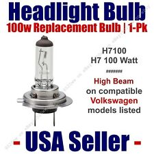 Headlight Bulb High Beam 100 Watt Upgrade fits Select VW Volkswagen H7 100