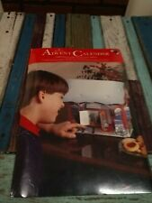 "Vintage Hallmark Advent Calendar  ""Christmas at the village Post office new rare"