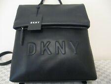 NWT DKNY TILLY MEDIUM BLACK DEBOSE BACKPACK...Authentic!!!