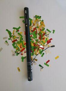 80cm Electric Confetti Cannon Cartridge Shooter Metallic Multi-colored Pro Use