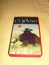 Cyrano de Bergerac VHS Gérard Depardieu Anne Brochet Vincent Pérez