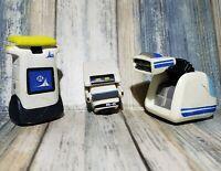 "Thinkway Toys Wall E Disney Pixar Figure Lot M-O and VAQ-M 1.5"" PVC Robot Toys"