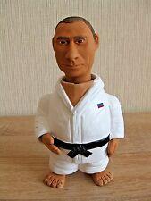 RUSSIAN PRESIDENT PUTIN プーチン HAND MADE CLAY FIGURINE DOLL JUDO calendar