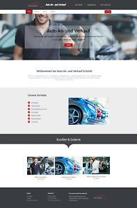 Webseite – Homepage schon ab 34,90 € / WordPress Website (VIP12- Paket )