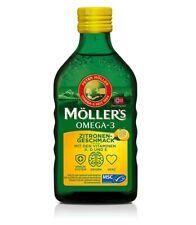 Möller's Omega 3 Lebertran | Nordic Omega 3 6 9 Nahrungsergänzung mit EPA, DHA