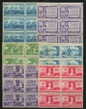 KStamps Lot C235  ( 6 ) Misc Blocks of 6 Stamps  MNH OG