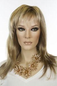 Angelique Long Medium Jon Renau Large Cap Straight Blonde Brunette Red Wigs