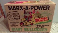 "1962 Marx A Power Giant Bulldozer ""Box Only"" Enhance Your Toy Nice Clean Box"