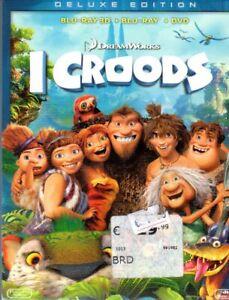I CROODS DVD + BLU RAY 3D + BLU RAY