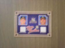 2005 DONRUSS DIAMOND KINGS TEAM TIMELINE JERSEYS MULDER - HUDSON  ATHLETICS CARD