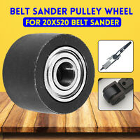 Air Belt Sander Pulley Wheel Replacement For 20mm 520mm Belt Sander Sanding Belt