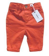 32e106d5486ab Junior J Jasper Conran Baby Boys Trousers Chinos Orange Red 3-6 Months