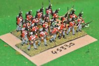 28mm napoleonic / british - infantry regt. 20 figures plastic - (45330)