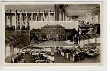 AK Wien II, Wiener Int. Messe, Sonderstempel 1946