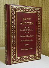 WORKS OF JANE AUSTEN, Leather, PRIDE AND PREJUDICE, EMMA, SENSE AND SENSABILITY