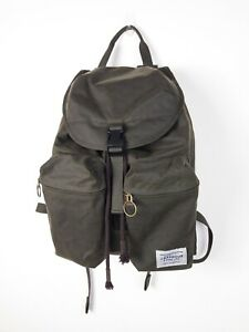 BARBOUR Archive Backpack Green Olive