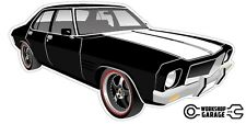 New! Collectable Holden HQ Monaro GTS 4Door - Black with Black Rims