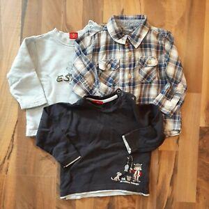 3x Baby Pullover + Hemd  - Gr. 80
