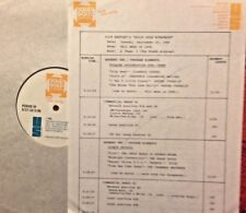 RADIO SHOW: 9/30/86 THIS WK '68 DEEP PURPLE, CCR, GRASS ROOTS, CHAMBERS BROTHERS