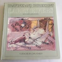 Signed LARRY RIVERS Drawings & Digressions NEW YORK SCHOOL artist SIGNED