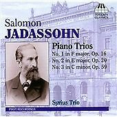 Salomon Jadassohn: Piano Trios CD NEW