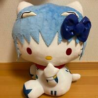 Hello Kitty Collaboration Ayanami Rei Evangelion Plush Doll  Rare Limited  F/S
