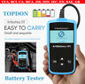 12V Car Battery Load Tester Auto Charging System Analyzer Diagnostic Tool TOPDON