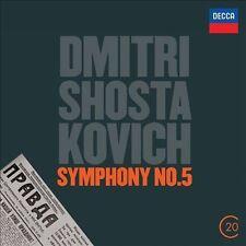 NEW Shostakovich: Symphony No. 5 (20C) (Audio CD)