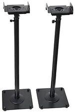 VideoSecu 2 Heavy duty PA DJ Club Adjustable Height Satellite Speaker Stand