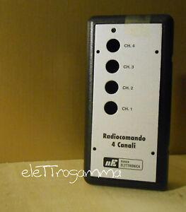 custodia per RADIOCOMANDO 4 ch LX1474 NUOVA ELETTRONICA
