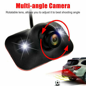 HD 170° CCD Car Front View Side View Blind Spot Camera Waterproof Night Vision