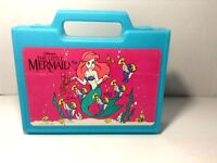 "RARE=VTG=1980'S ERA=THE ORIGINAL-""LITTLE MERMAID""=SCHOOL/PENCIL BOX=BY DISNEY"
