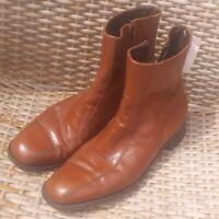 vtg boots Mens 60s 70s BEATLE BOOTS FLORSHIEM IMPERIAL boots Leather 9C BROWN