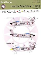 Bestfong Decals 1/144 NORTH AMERICAN F-86D DOG SABRE Repulic of China Air Force