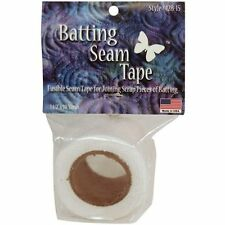Batting Tape - 1.5inch x 10 Yd Reel (38mm x 9.1m) To Piece Leftover Scraps