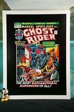 DC MARVEL COMICS POSTER PICTURE FRAMED 16X12 ORIGINAL PRINTS GHOST RIDER