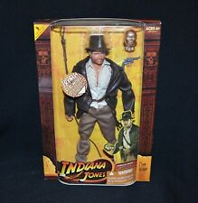 Indiana Jones Raiders Of The Lost Ark Talking Moving Mouth Doll 2008 Hasbro