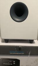 Audioengine S8 250W Powered Subwoofer, Built-in Amplifier Gloss White Brand New